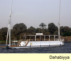 River Nile Cruises - Sailing Holidays on the River Nile - Dahabiyya