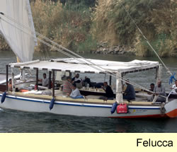 SailtheNile.com - Sailing Holidays on the River Nile - Felucca