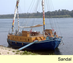 River Nile Cruises - Sailing Holidays on the River Nile - Sandal