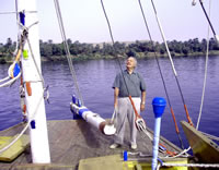 Sailing holidays on the River Nile by SailtheNile.com